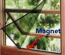 Kawat nyamuk magnet