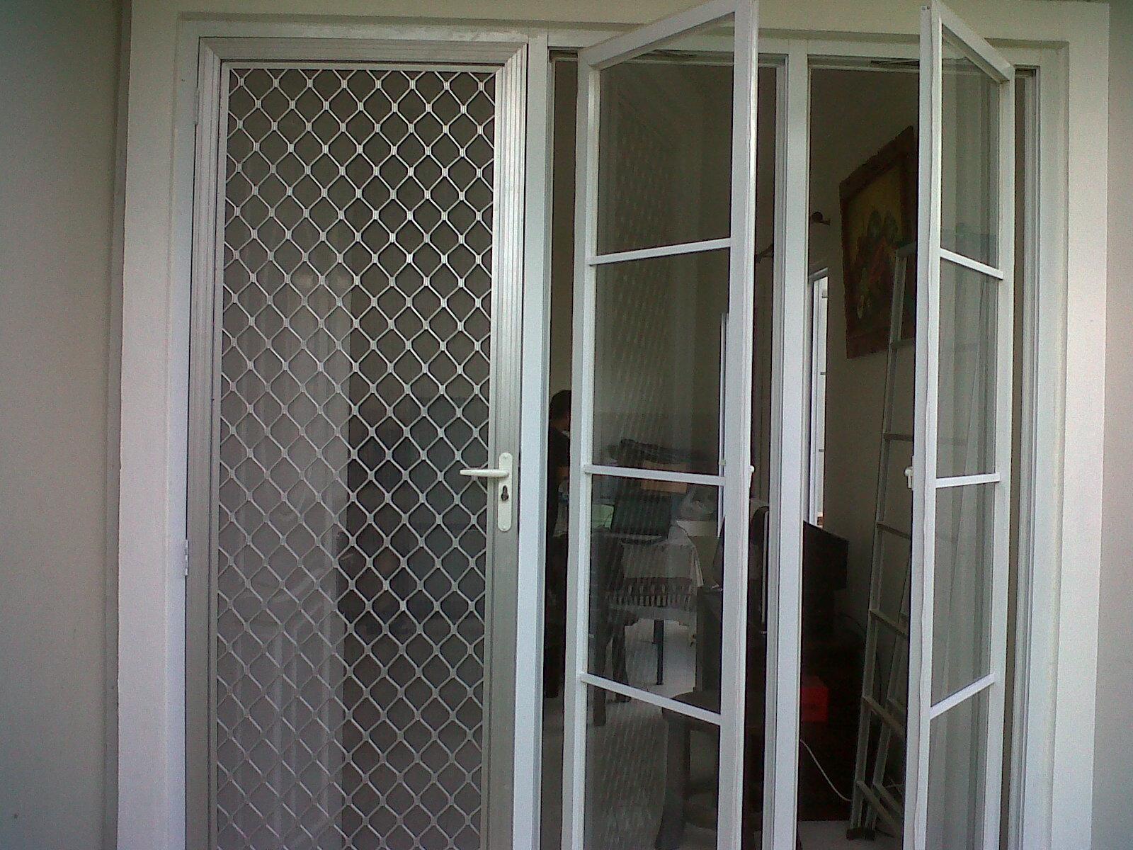 Pintu Kawat Nyamuk Aluminium Distributor Resmi